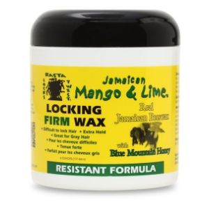 Jamaican Mango & Lime Locking Firm Wax Resistant Formula