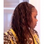 Micro Braids Hairstyle Example
