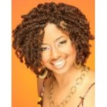 Spring Twist Hairstyle Example
