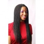Sengalese Twist Hairstyle Example