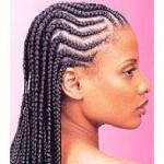 Cornrows Hairstyle Example