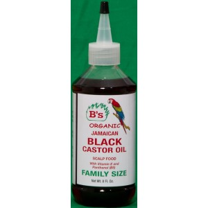 B's Organic Jamaican Black Castor Oil Scalp Food Family Size