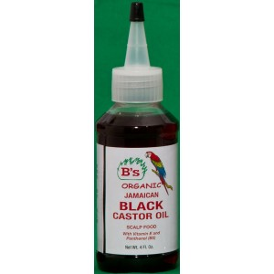 B's Organic Jamaican Black Castor Oil Scalp Food