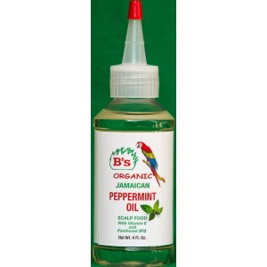 B's Organic Jamaican Peppermint Oil