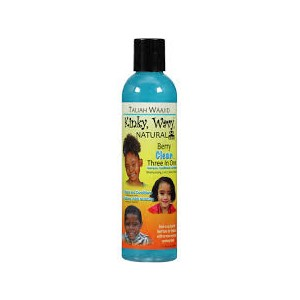Taliah Waajid Kinky, Wavy, Natural 3-in-1 Berry Clean Shampoo
